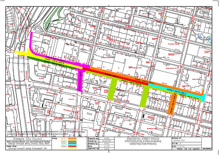 Sauchiehall Avenue Phasing