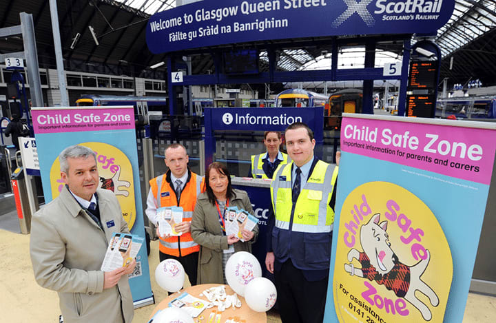 Child Safe at Queen Street Station