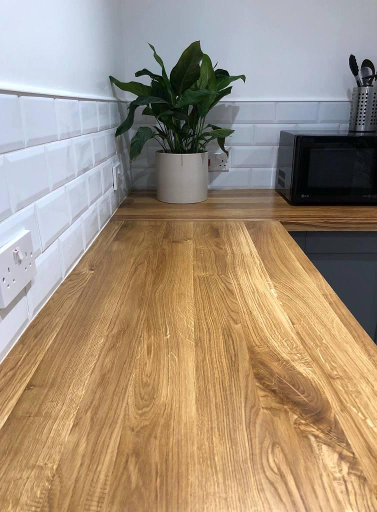 oak worktop