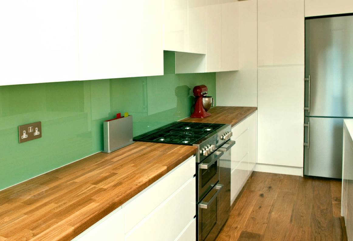 Wood Floor In The Kitchen Matching Wood Flooring To Wood Worktops In The Kitchen Wood And