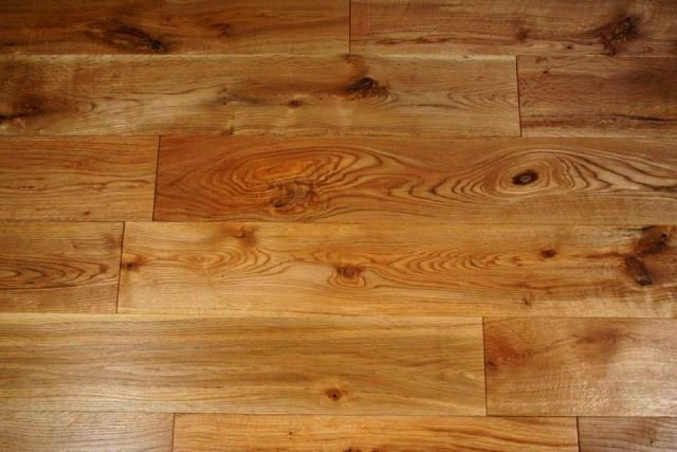rustic timber flooring
