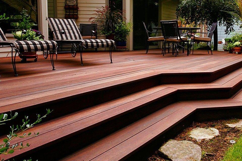 How decking width will affect your garden design wood