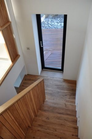 Wood Flooring On Staircase