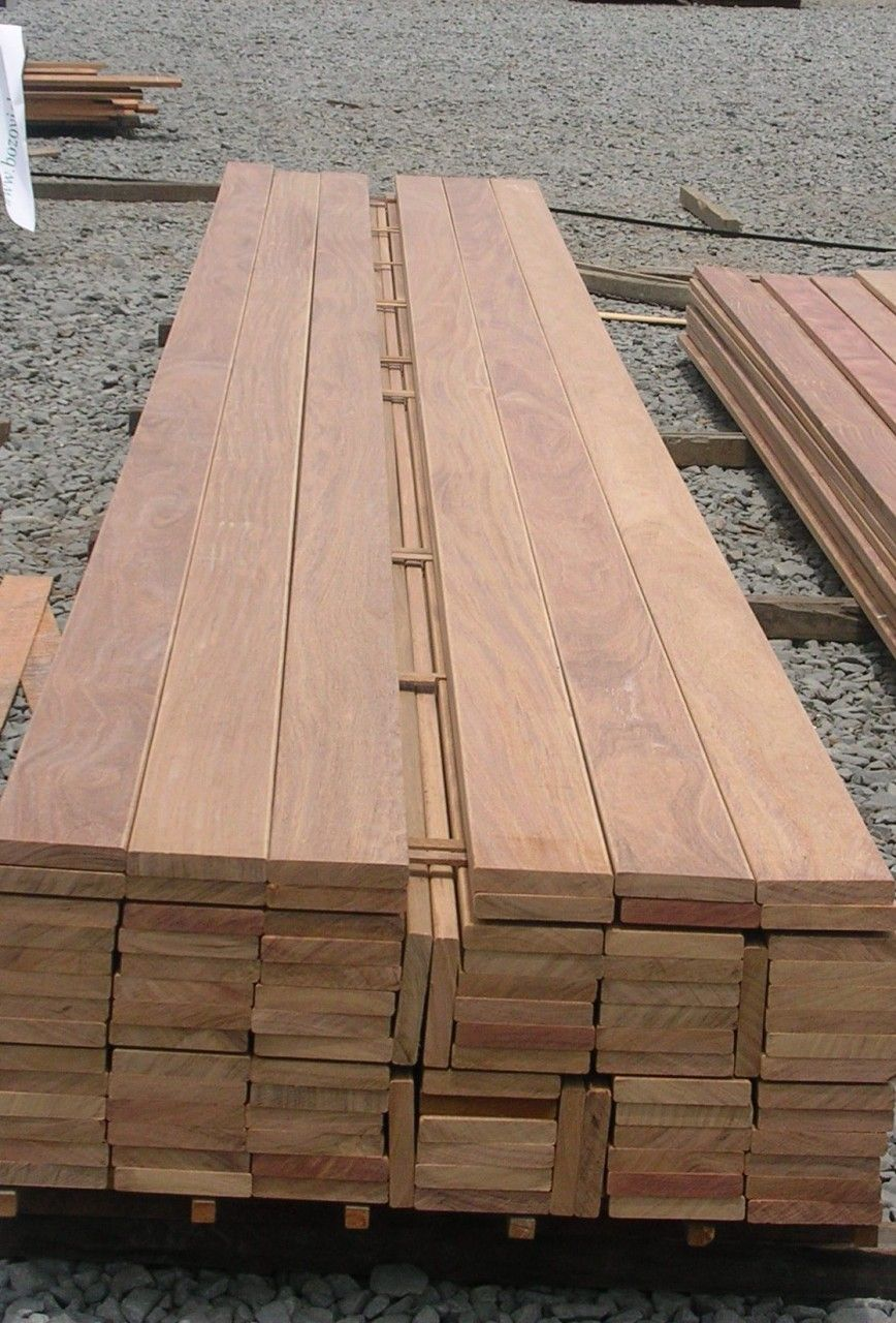 Hardwood decking costs and types wood and beyond blog for Hardwood timber decking boards