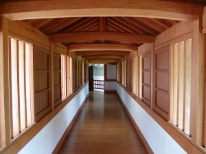 Beautiful hallway can be created with engineered oak flooring