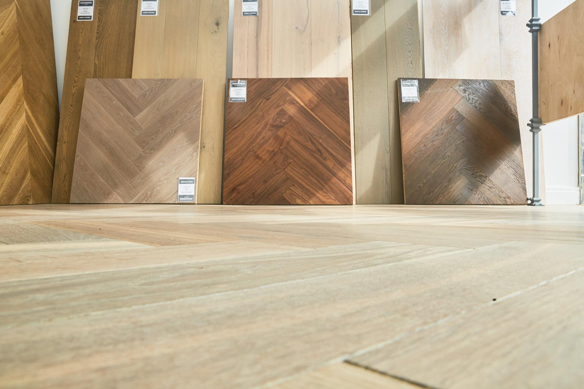 Oak Herringbone Flooring Natural Light Dark Wood and Beyond Blog