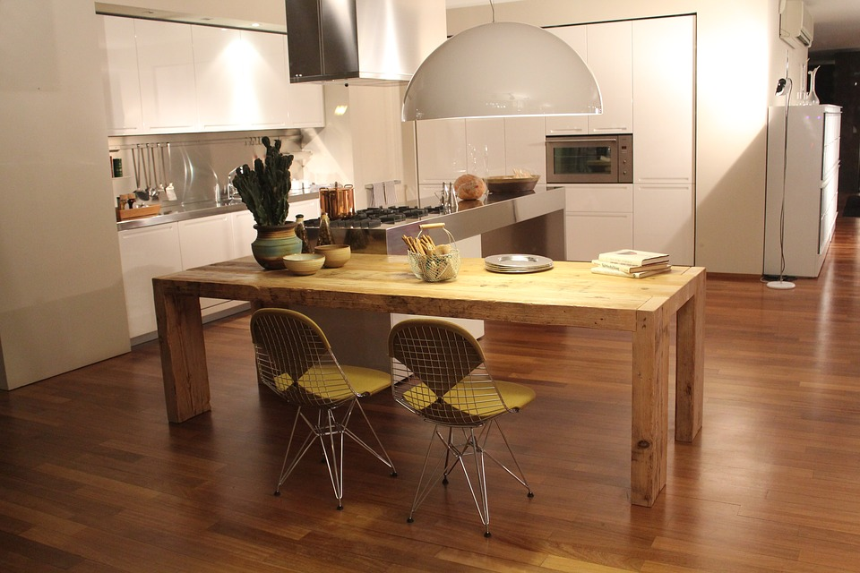 Gentil A Question That Raises Its Head Often In The Wooden Floor World Is Whether  Or Not Wood Floors Are A Good Idea In Kitchens And Bathrooms.
