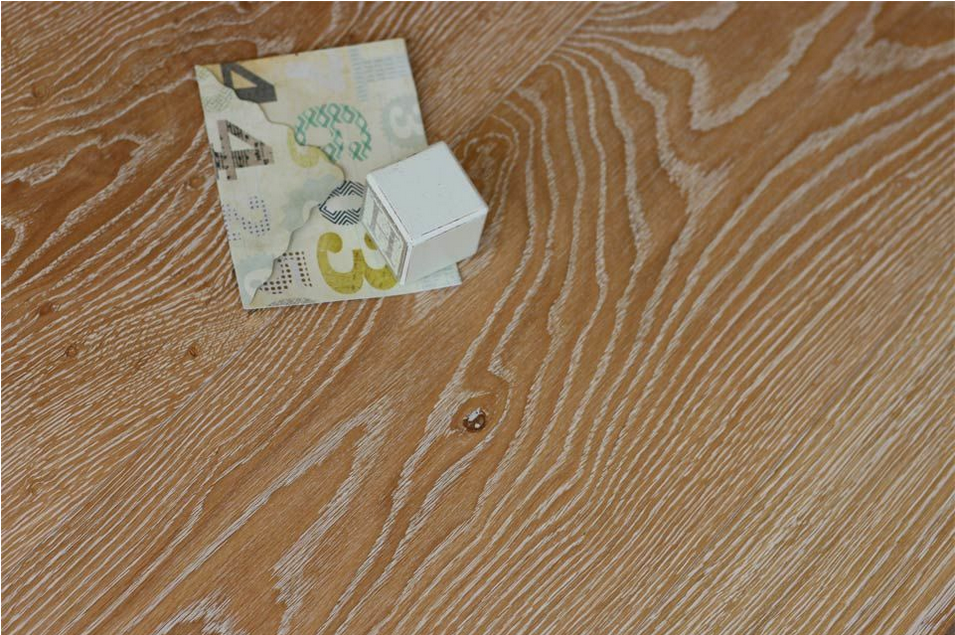 Smooth wood flooring