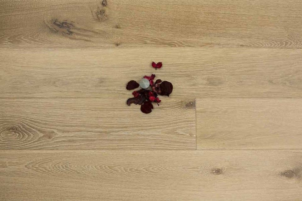 This White Washed Oak Floor Is Engineered Which Means That You Can Install It In Any Room Of The Home Wish Including Bathrooms And
