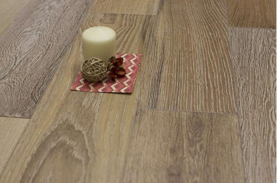 Natural Engineered Oak White Washed UV Lacquered 14/3mm By 180mm By 400-1500mm