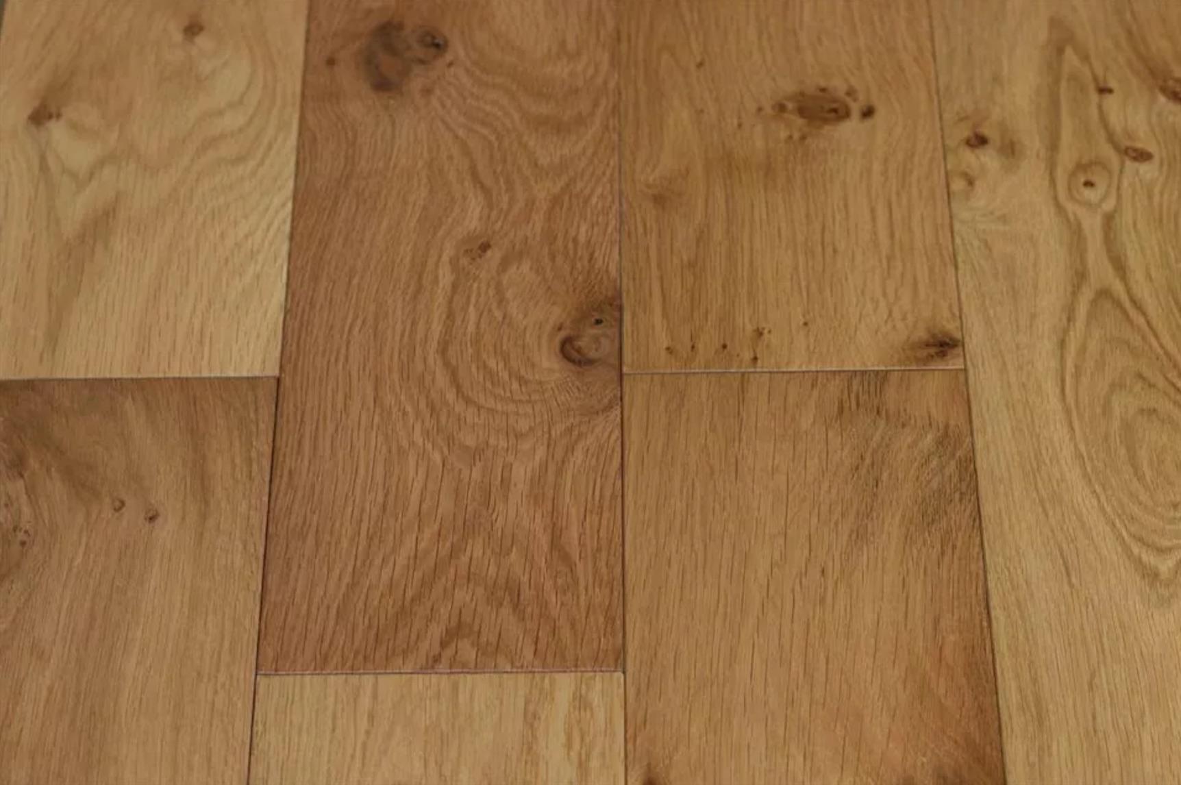 wide board oak