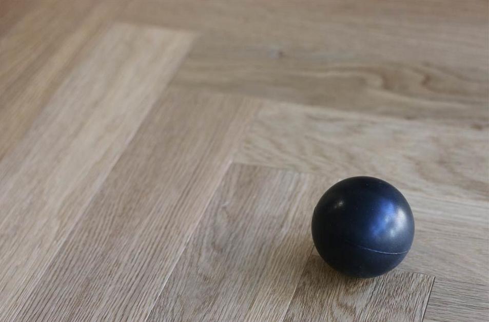 Light Herringbone Timber Floor
