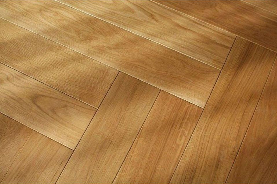 Honey Herringbone Timber Floor