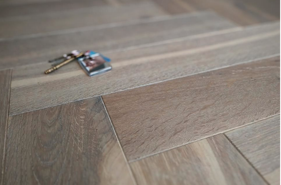 Timber Herringbone Flooring