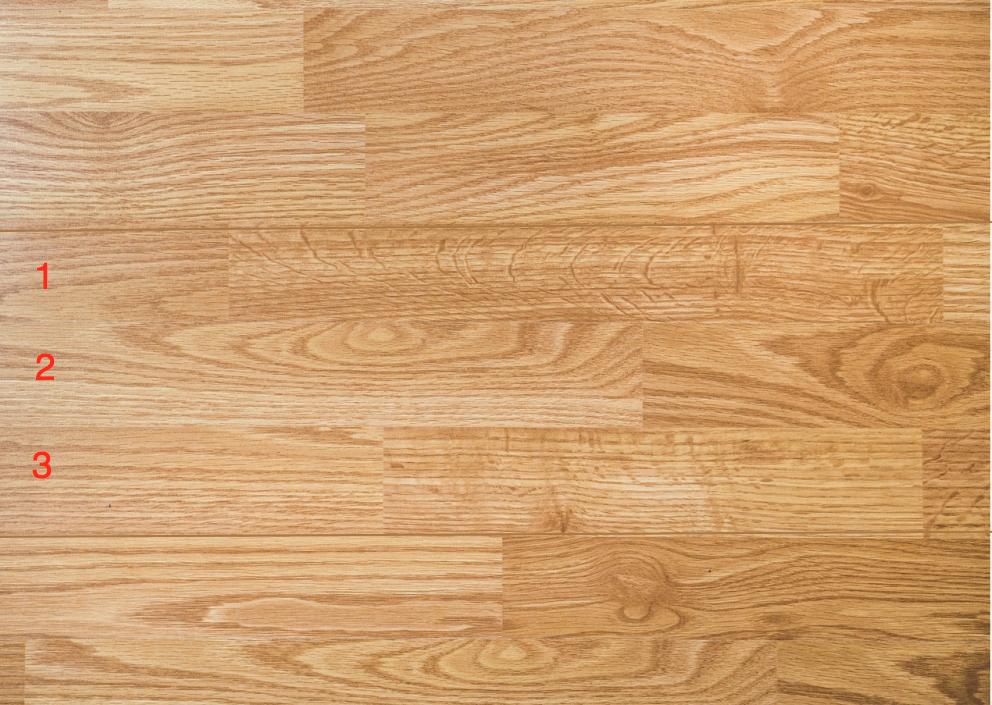 3 Strip Woood Flooring