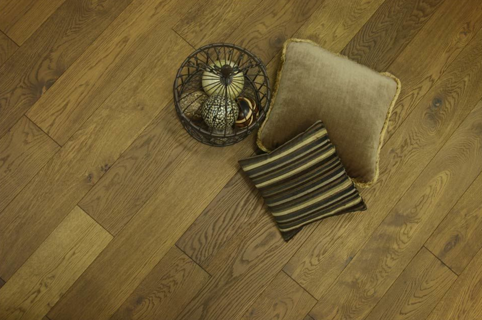 Chocolate Brown Wood Flooring
