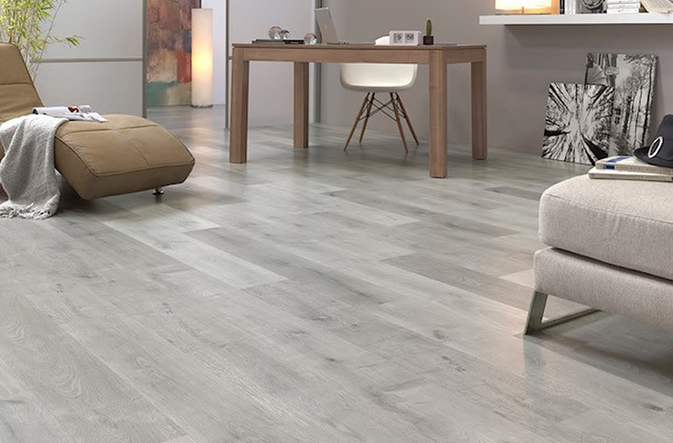 grey white/light laminate flooring