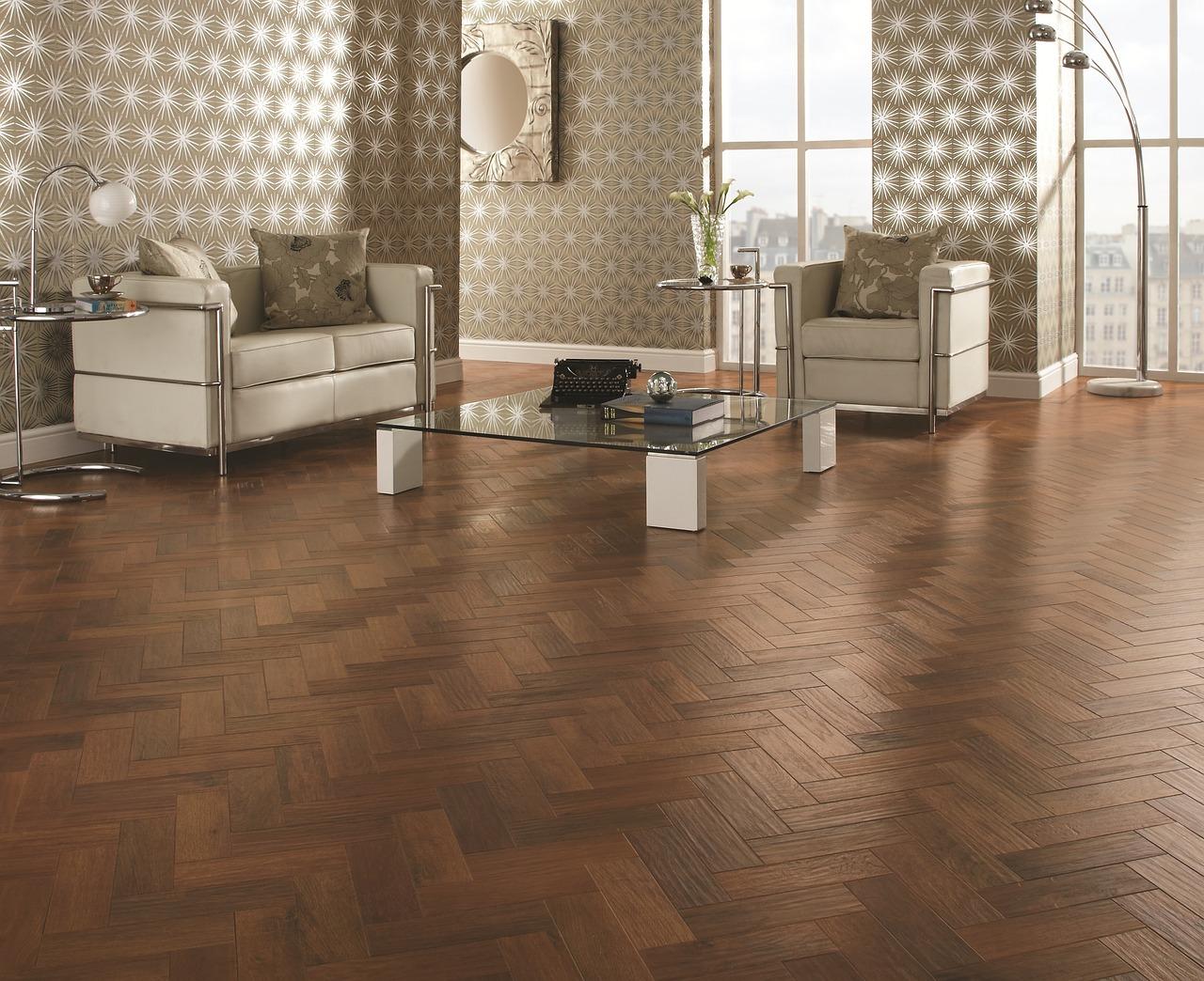 caramel wood floor colour