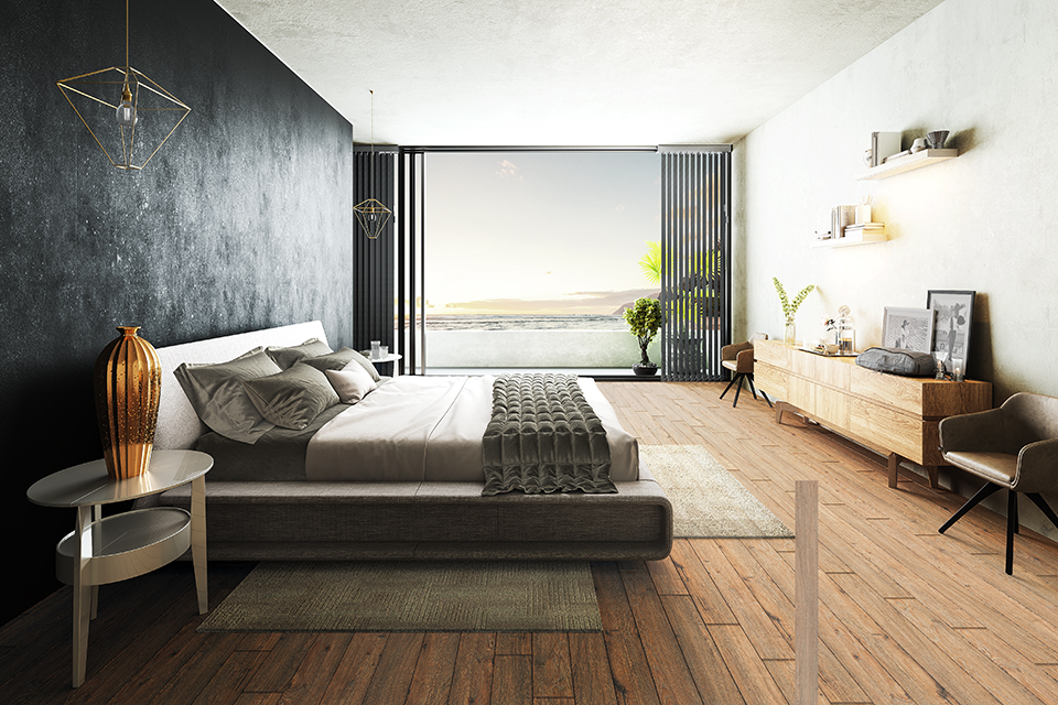 Wood flooring in London for your bedroom