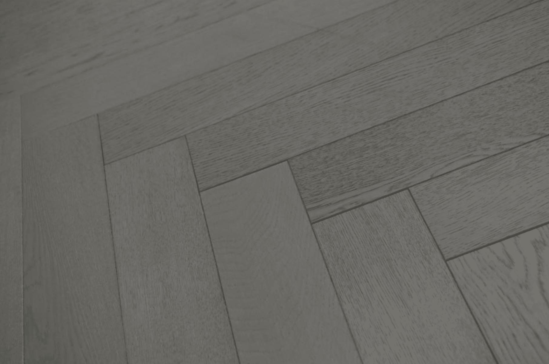 grey herringbone floor