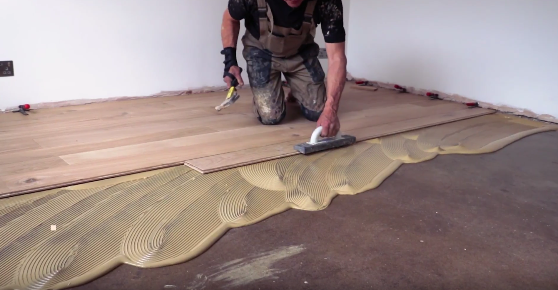 Laying Engineered Wood Flooring
