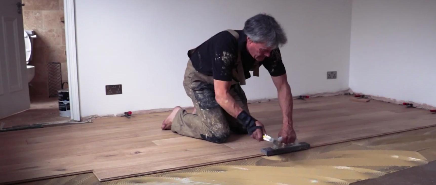 Wood Flooring Over Vinyl