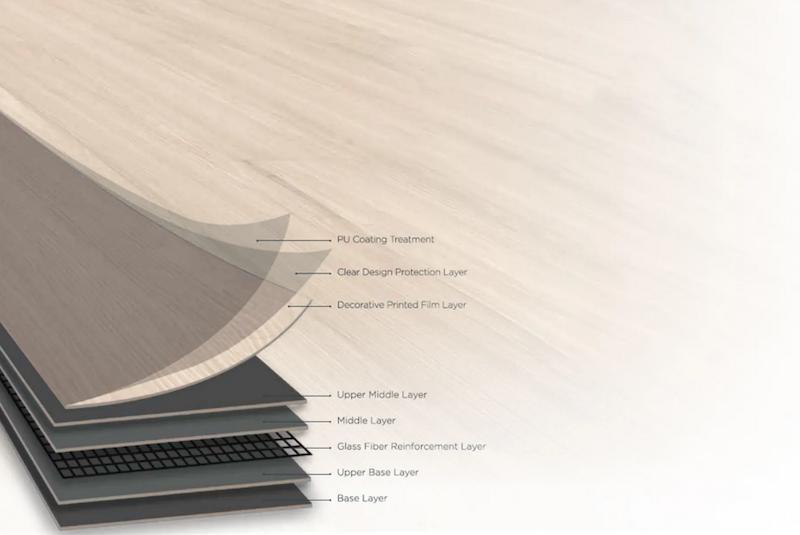 lvt flooring structure