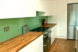Matching Wood Flooring To Wood Worktops In The Kitchen
