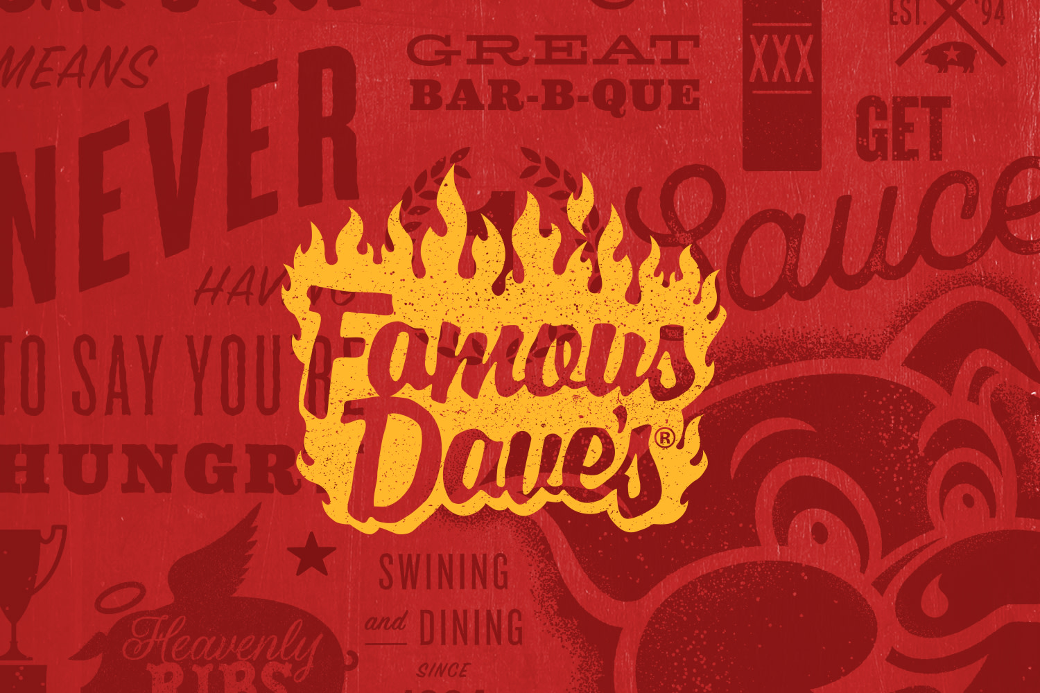Famous Dave's Brand Refresh