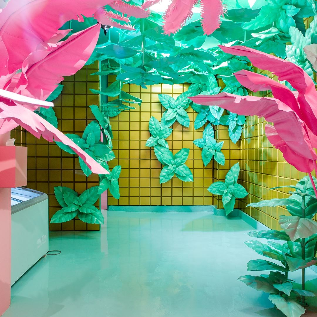 Museum of Ice Cream's Mint Jungle