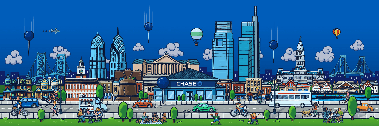 Chase Philly Graphics