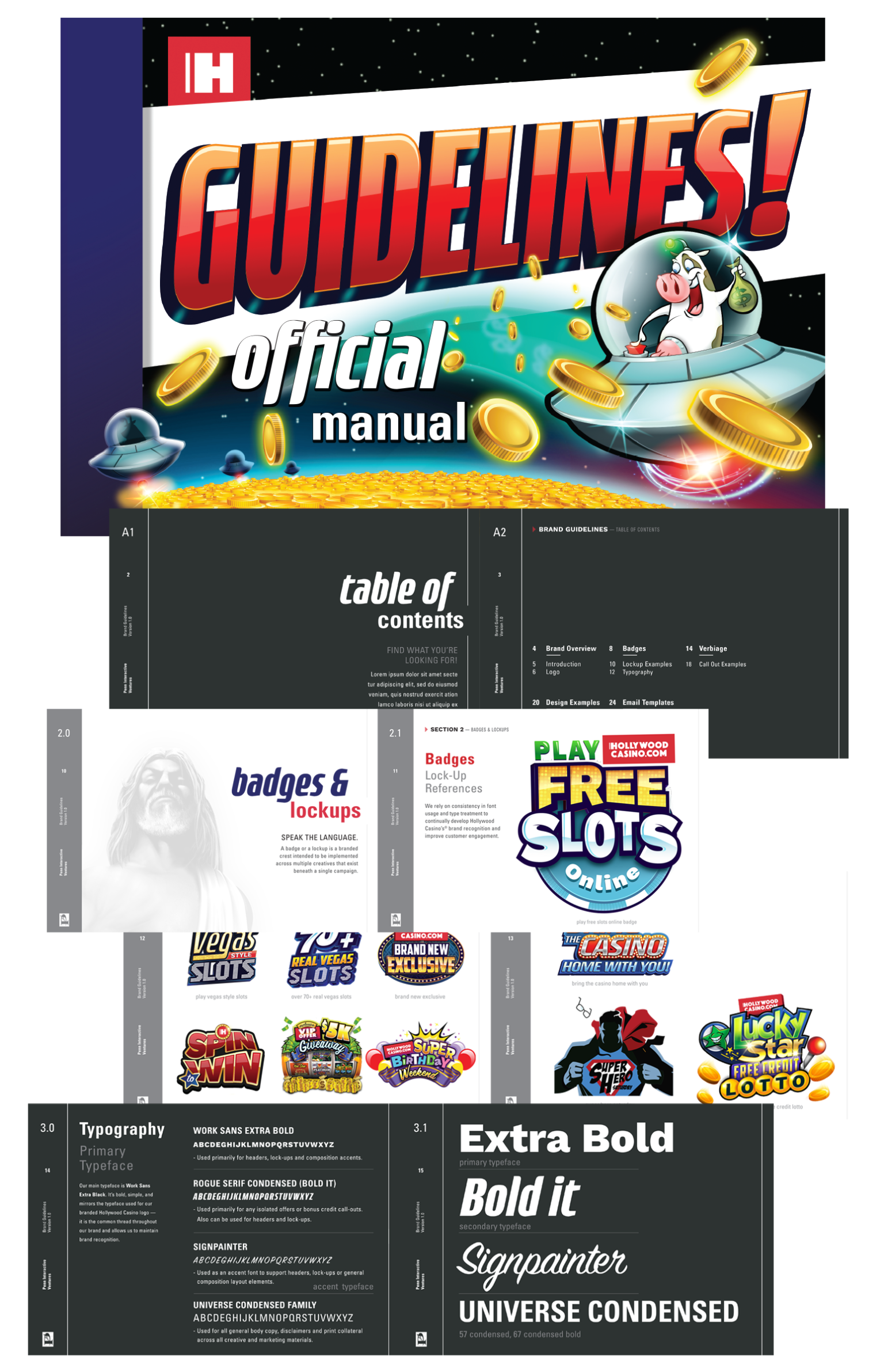 Hollywood Casino Brand Guidelines - WNW