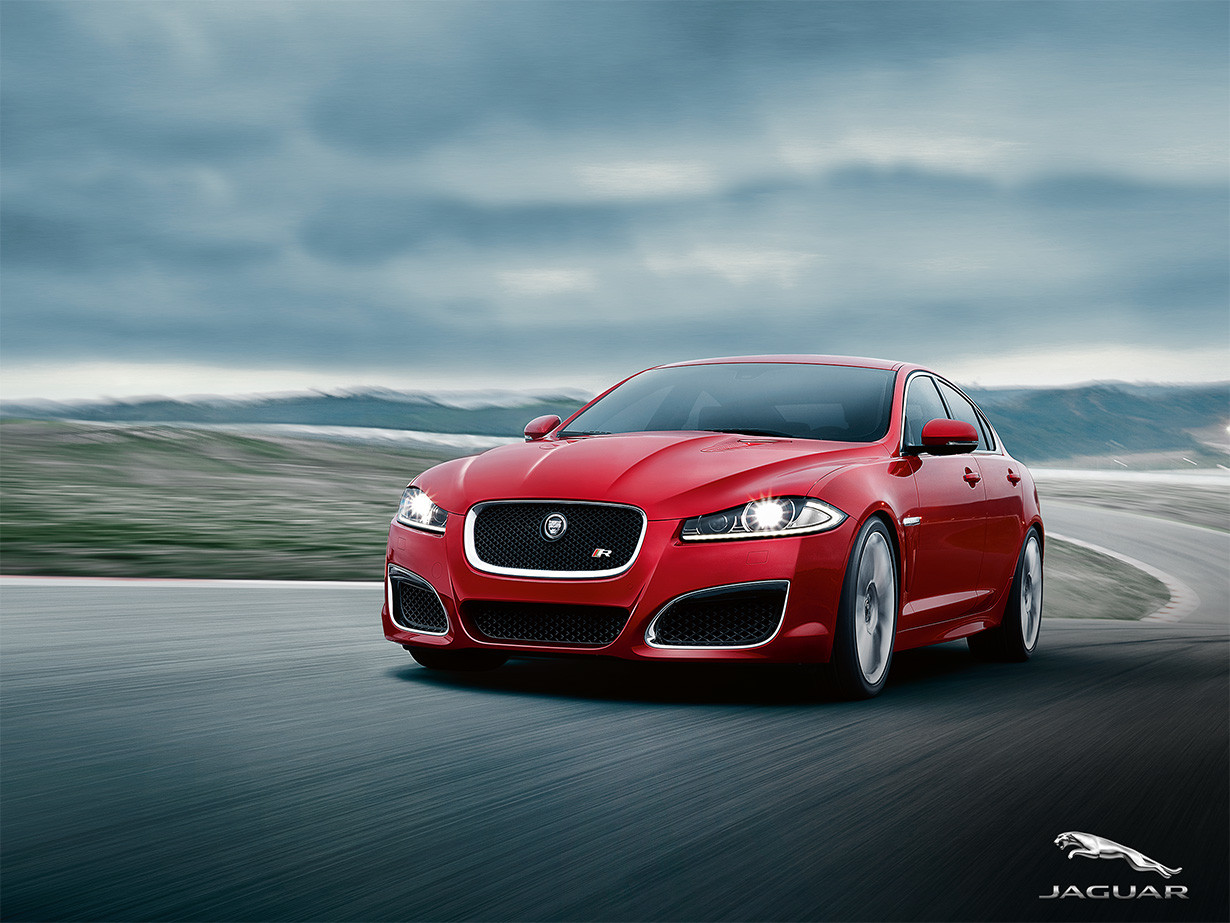 Jaguar XF Website