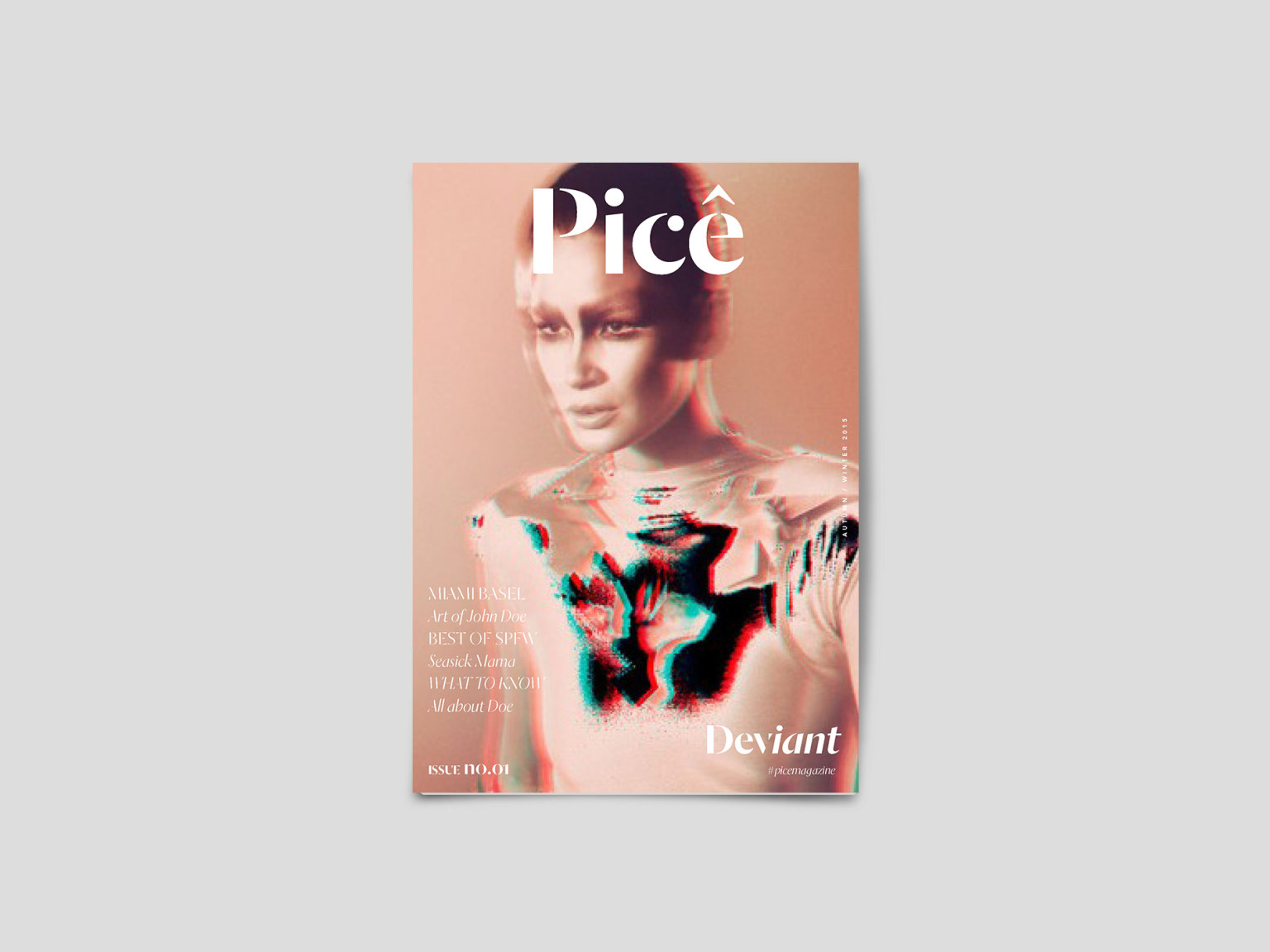 Picê Magazine Editorial Design