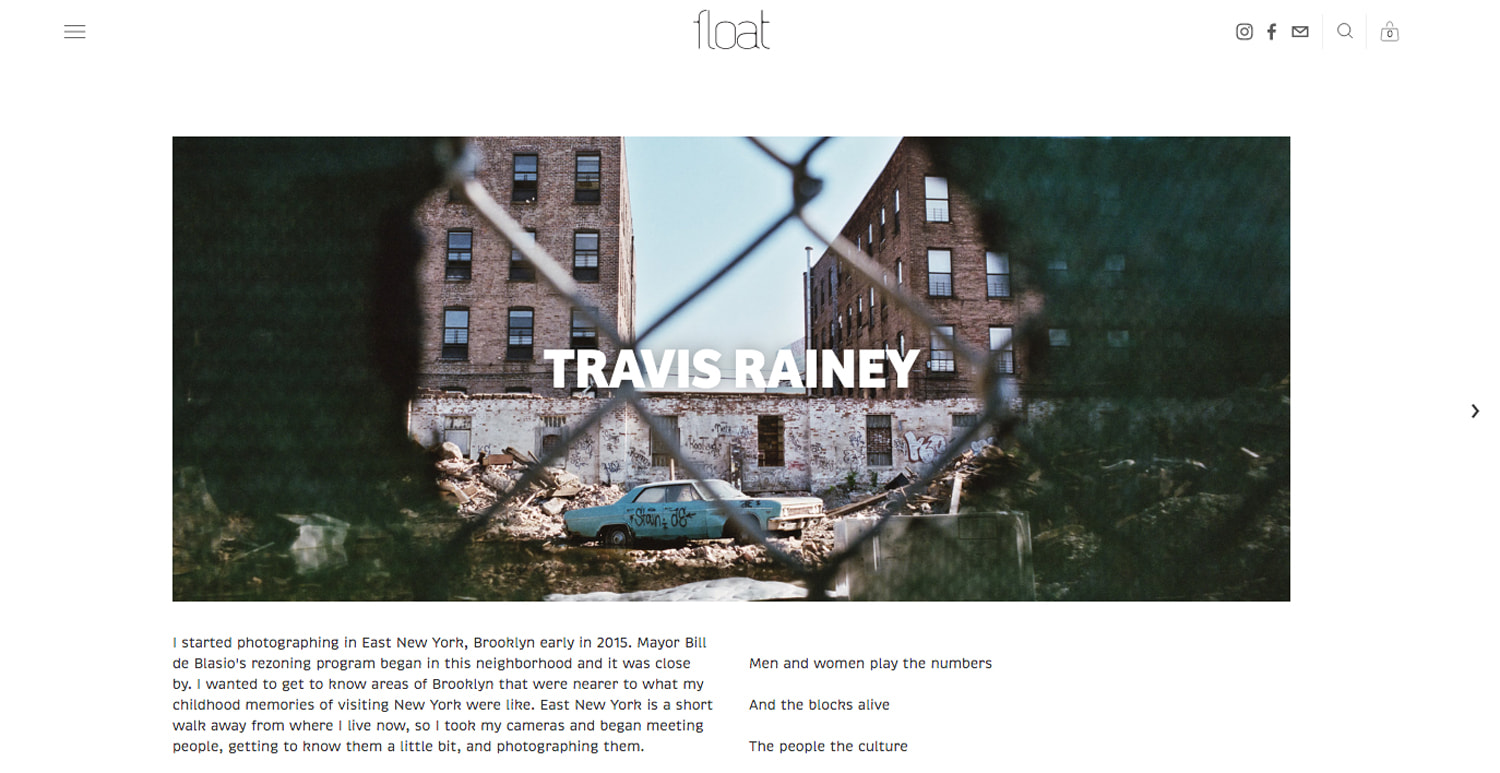 Float Magazine Feature