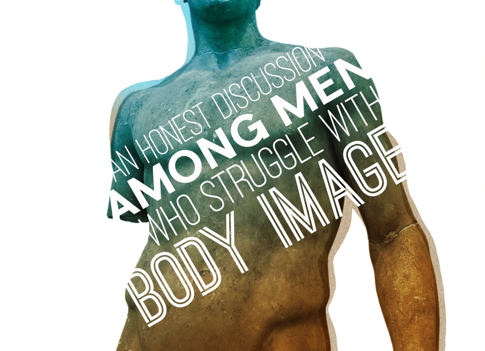 Men's Body Image Post Header And Pull Quotes