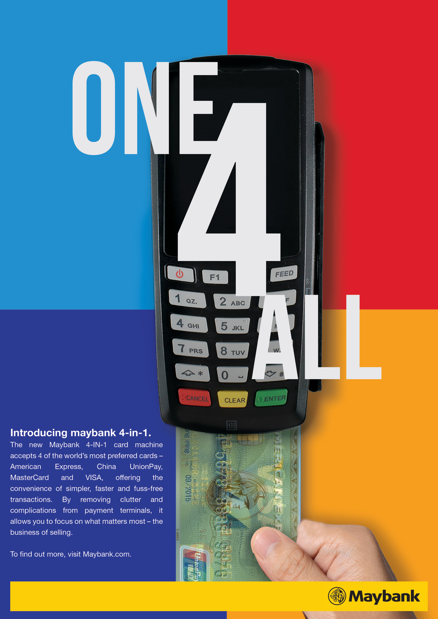 Maybank - One 4 All Card