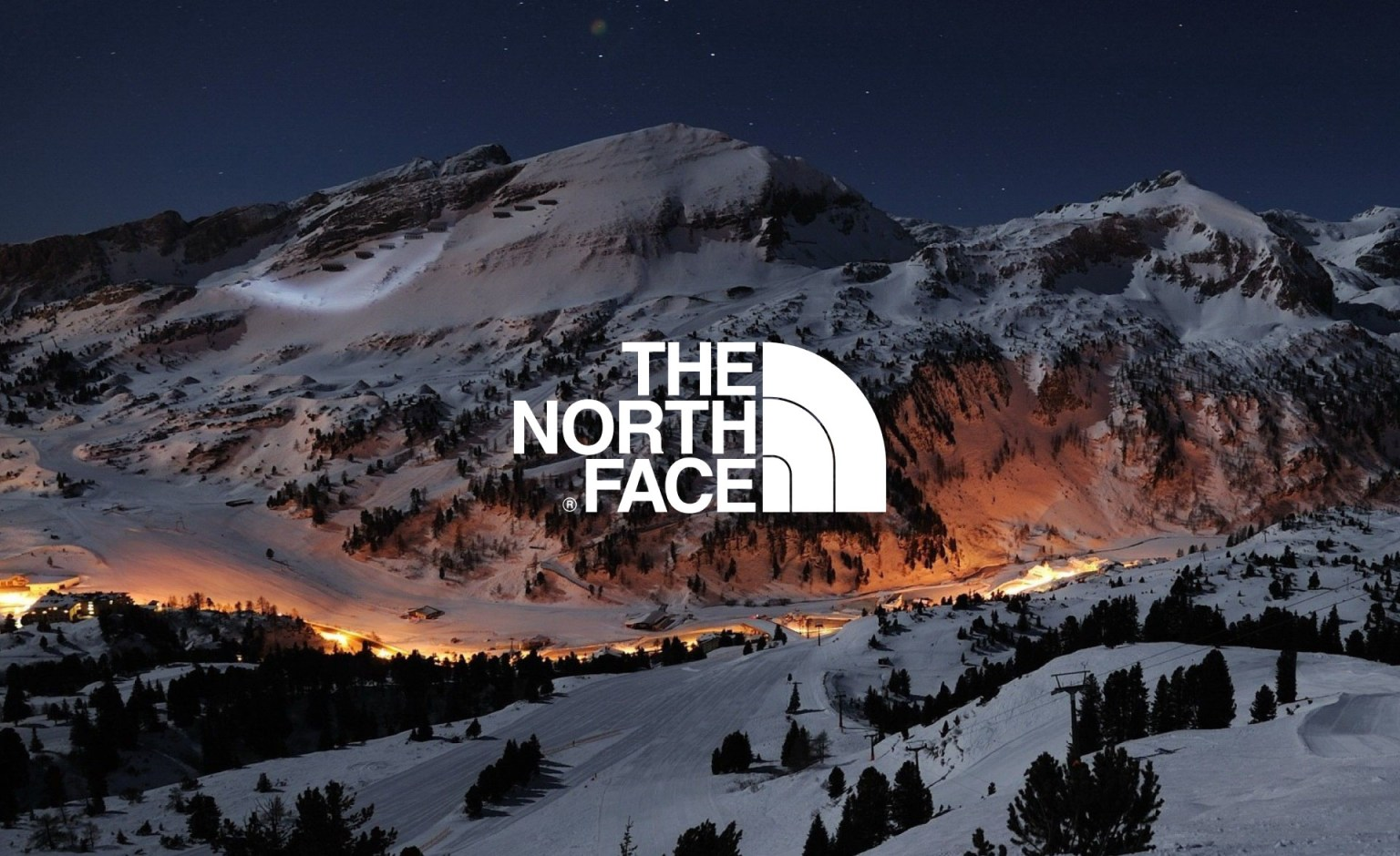 North Face Logo Animations