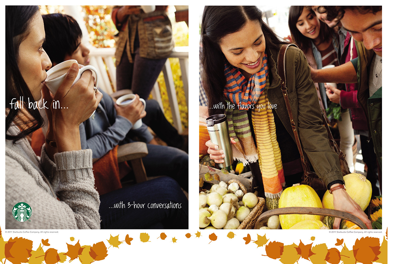 Starbucks Fall OOH Campaign