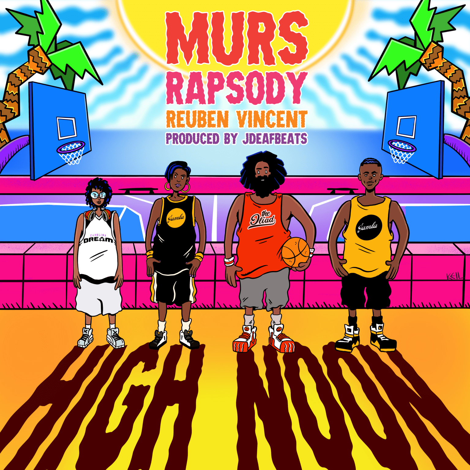 """""""High Noon"""" Cover Art For Murs"""