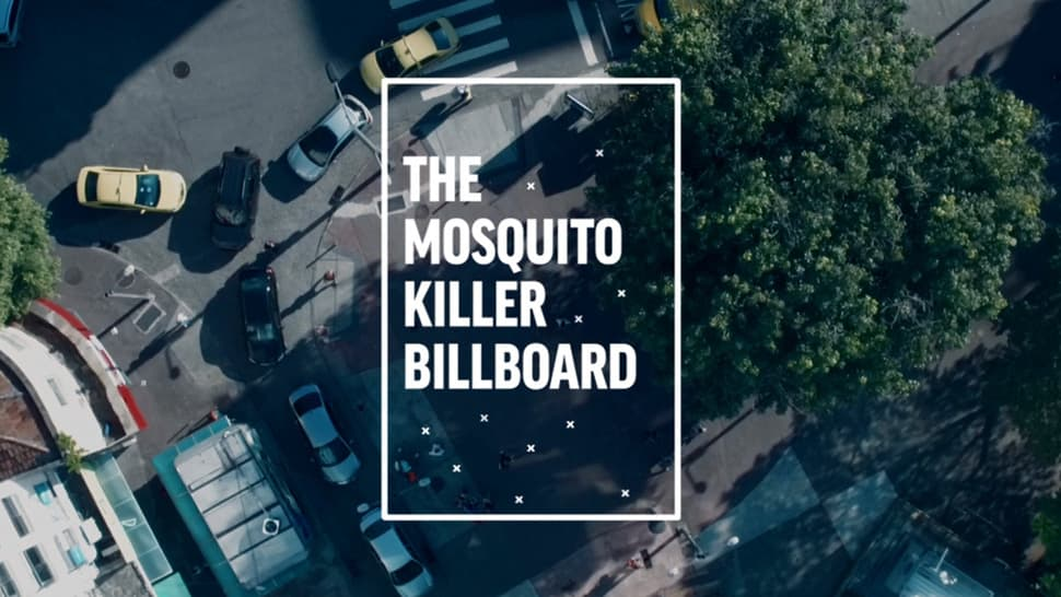 The Mosquito Killer Billboard