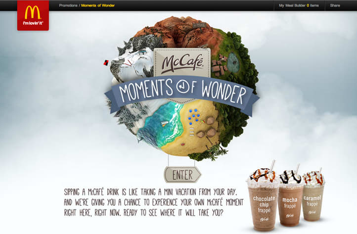 "McDonald's ""Moments of Wonder"""