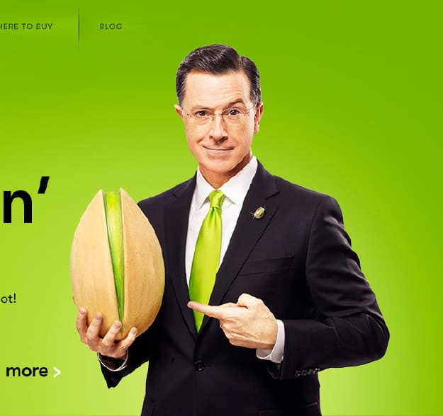 Wonderful Pistachios with Stephen Colbert