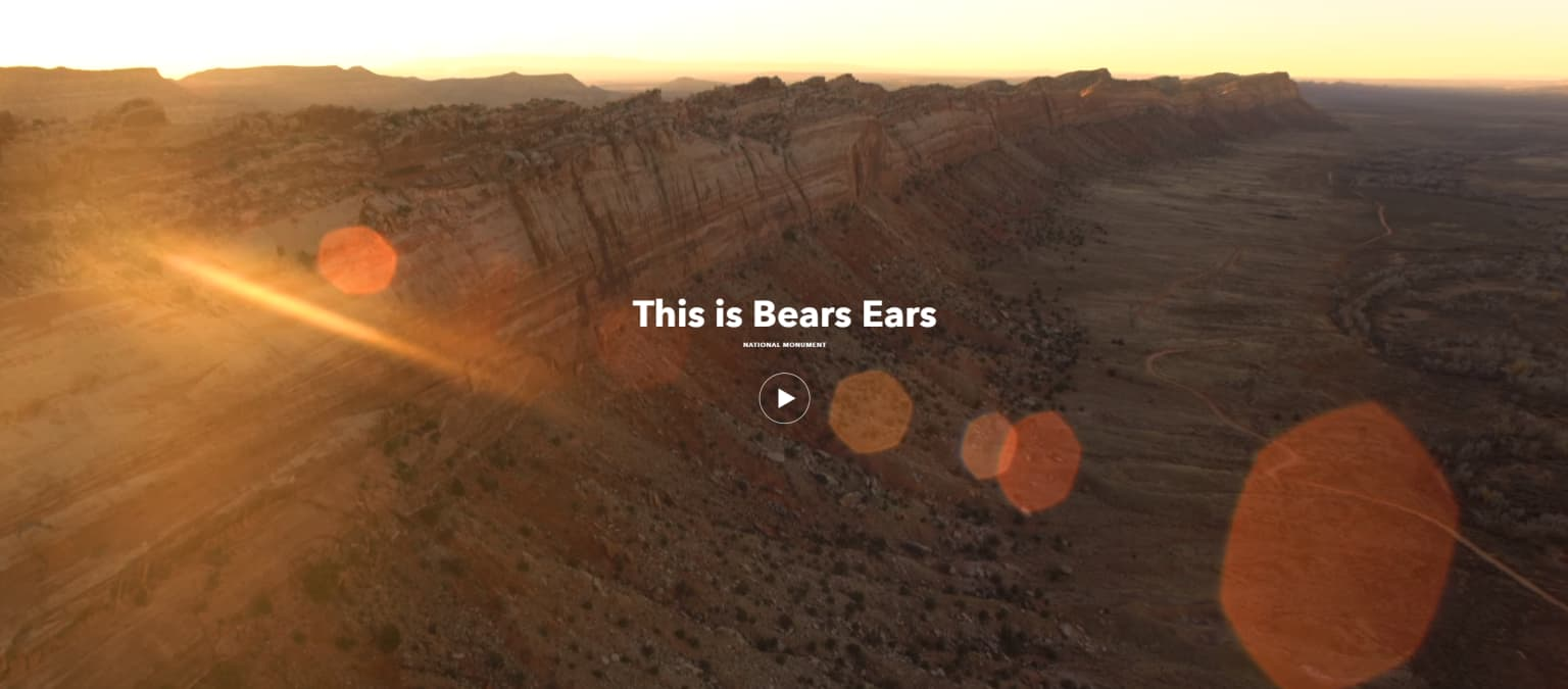 "Patagonia ""This is Bears Ears"""