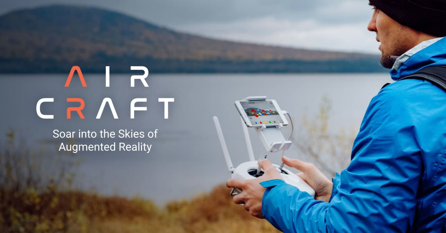 DJI & DRONEBASE WORLD'S FIRST AUGMENTED REALITY EXPERIENCE