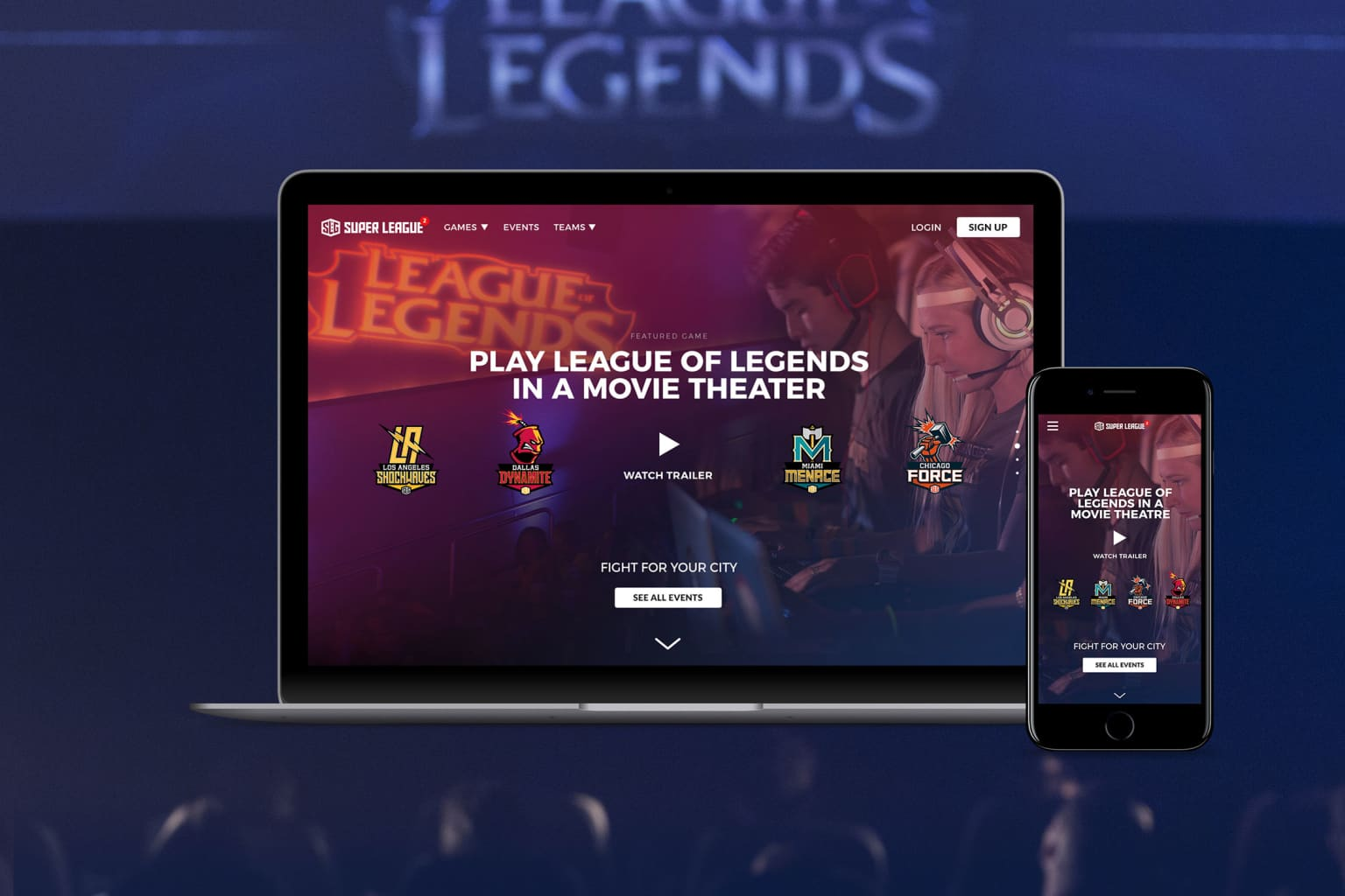 SUPER LEAGUE GAMING & RIOT GAMES Create Local Esports Tournaments