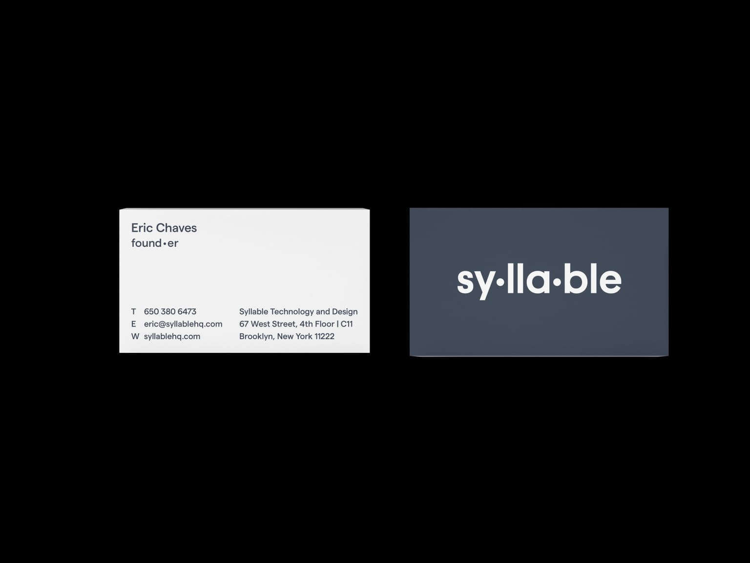 Syllable Branding