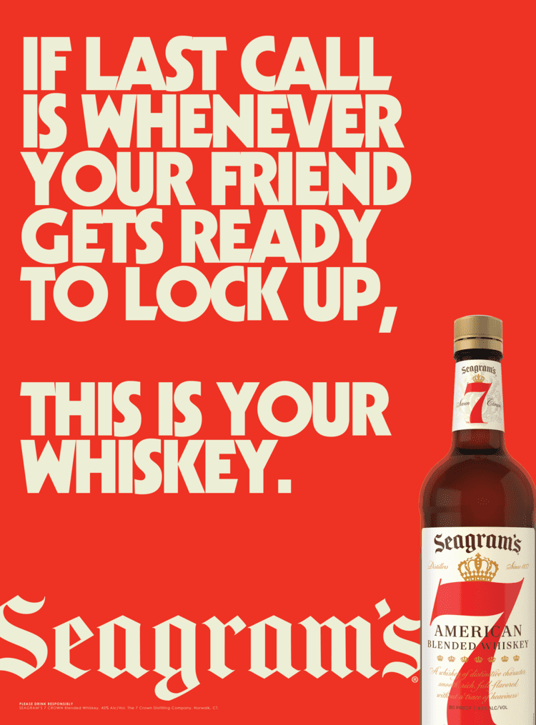 Seagrams 7 posters