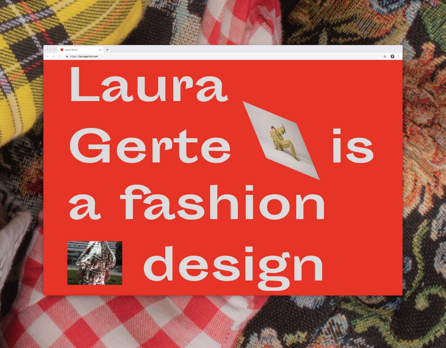 Laura Gerte Portfolio Website