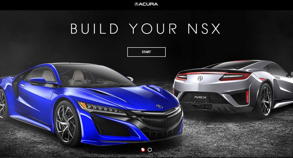 Acura NSX Launch